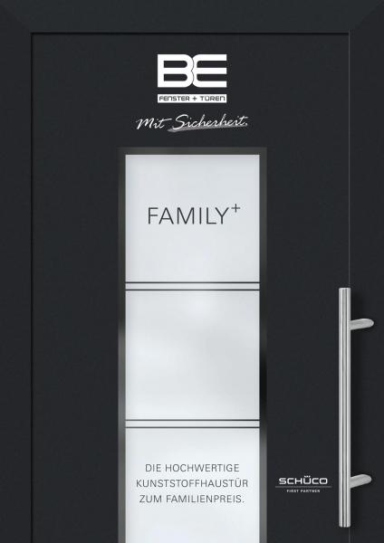 BE 2018 Sondermodelle FAMILY