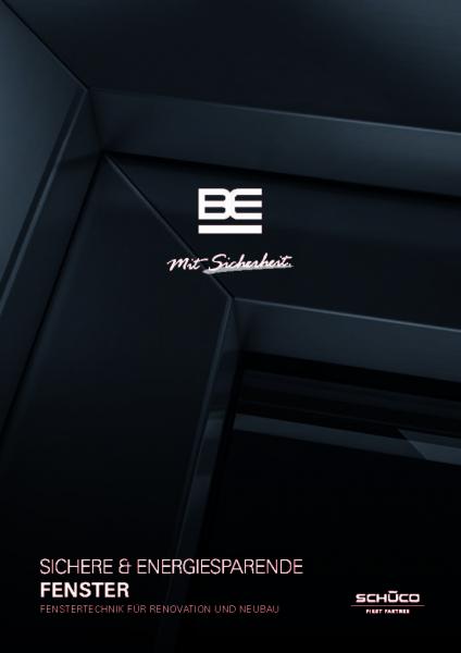 BE 1038 Sichere & Energiesparende Fenster