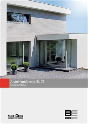 BE 1033 Aluminiumfenster SL 75